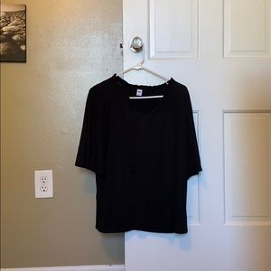 Black Boho Shirt from Old Navy